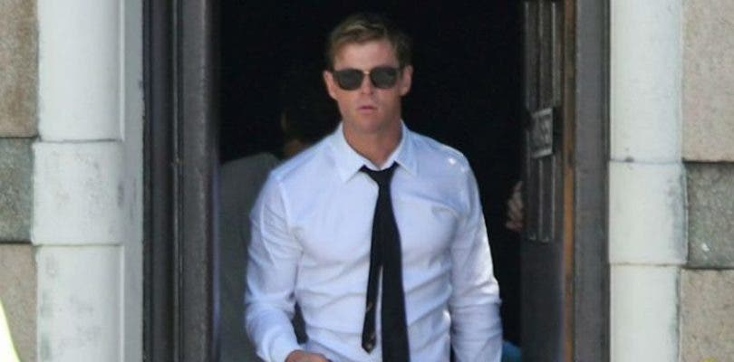 Chris Hemsworth deslumbra en las primeras fotos del rodaje de Men in Black