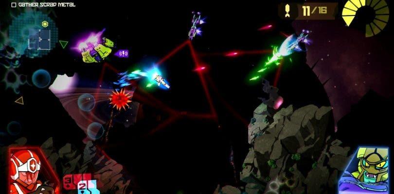 Galak-Z: Variant S llega con sus batallas espaciales a Switch totalmente gratis