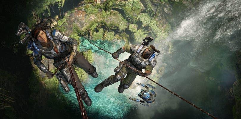 Gears 5 nos deja ver un nuevo enemigo armado con dos letales hachas cristalizadas