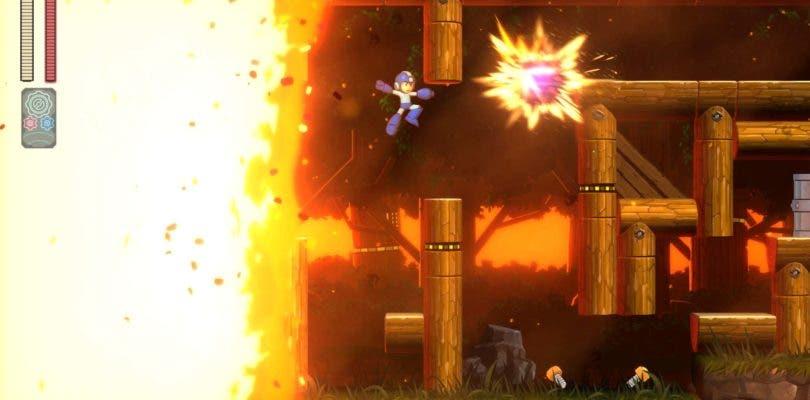 Observamos un nuevo gameplay y un inédito tráiler de Mega Man 11