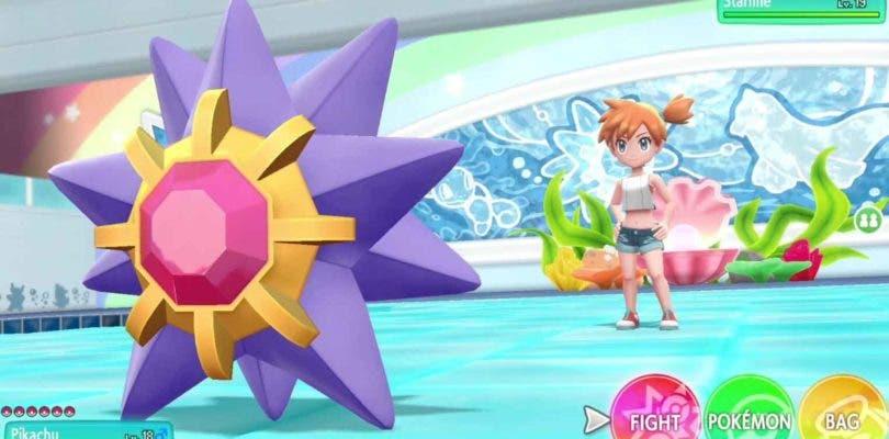 Pokémon Let's Go Pikachu/Eevee se dejan ver en nuevos gameplay