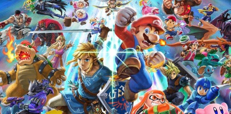Se filtra una edición de Nintendo Switch de Super Smash Bros. Ultimate