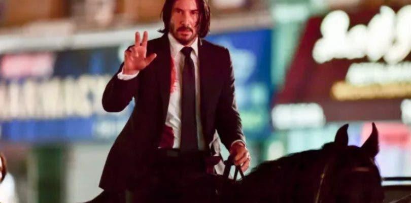 Keanu Reeves juega al polo en las bizarras nuevas imágenes de John Wick 3