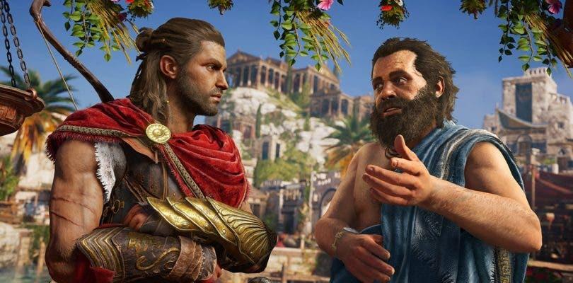 Assassin's Creed Odyssey nos lleva de tour por la ciudad de Atenas