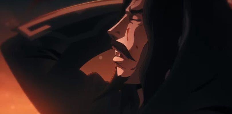 Baño de sangre en el primer póster de la segunda temporada de Castlevania