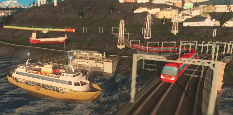Cities: Skylines para consolas recibe la expansión Mass Transit