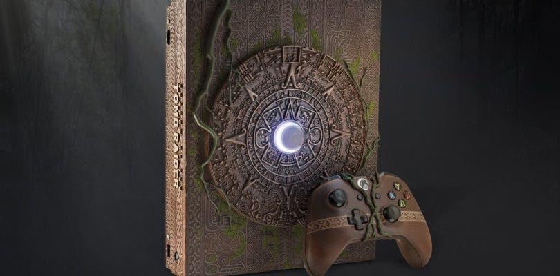 Descubre la increíble Xbox One X decorada con motivo de Shadow of the Tomb Raider