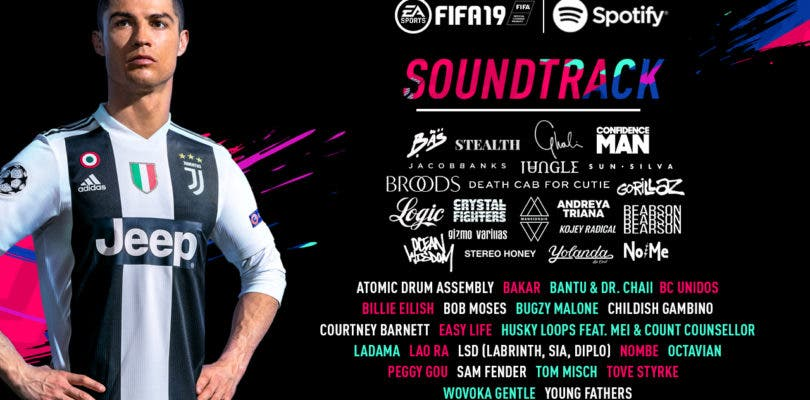 Descubre el soundtrack completo de FIFA 19