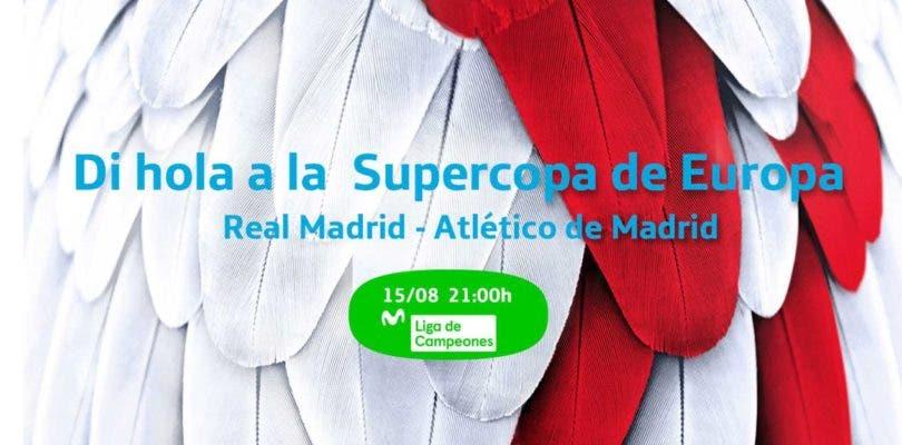 Movistar Liga de Campeones emitirá el Real Madrid-Atlético de la Supercopa de Europa