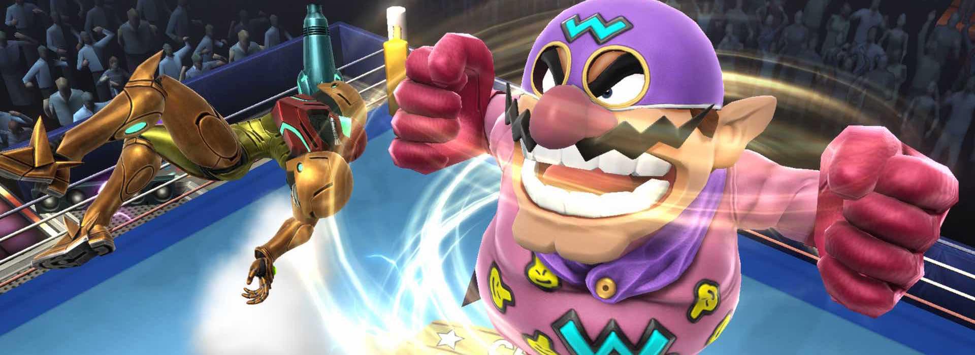Imagen de El blog oficial de Super Smash Bros. muestra a Wario en acción
