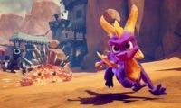 La carátula de Spyro Reignited Trilogy sugiere la descarga de contenidos adicionales