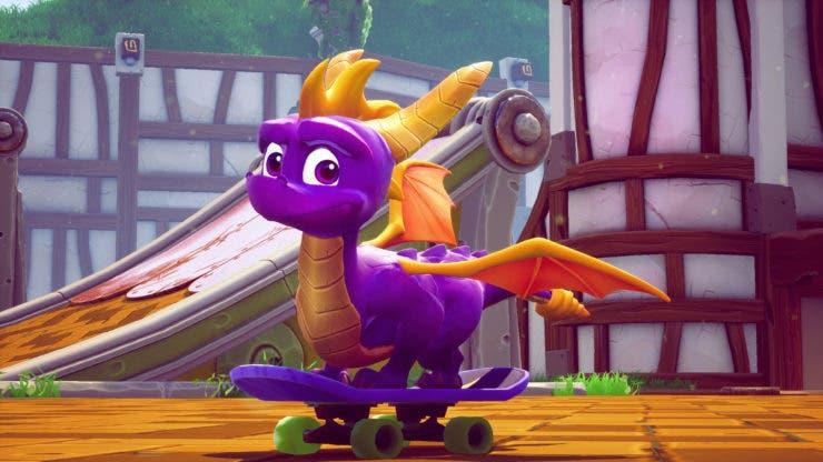 Imagen de Spyro Reignited Trilogy celebra el 20 aniversario del dragón con un cover art