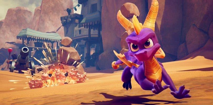 Spyro Reignited Trilogy vuelve a lucirse en un nuevo gameplay