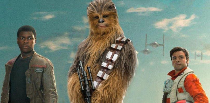 Finn, Poe y Chewbacca brillan en el rodaje de Star Wars: Episodio IX
