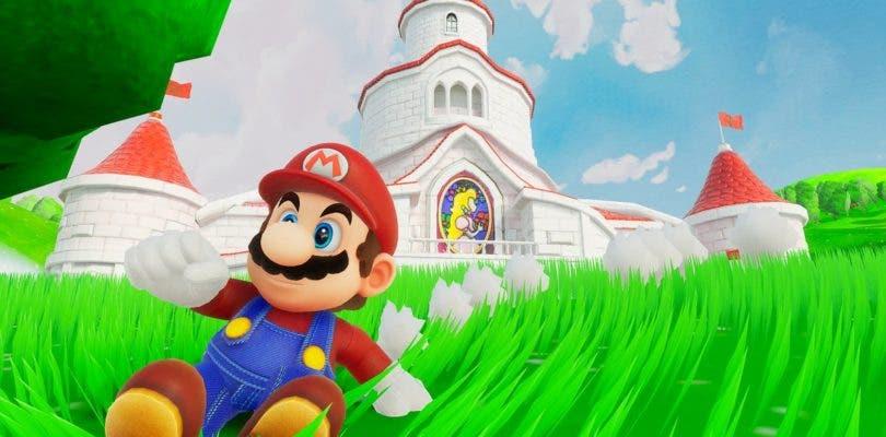 Un fan recrea la introducción de Super Mario 64 en Unreal Engine 4