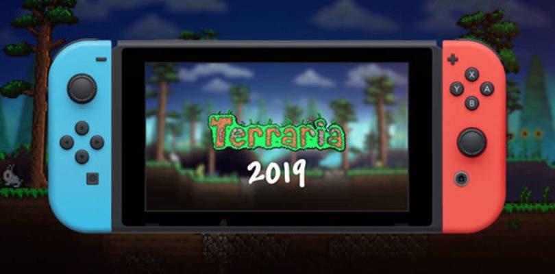 Terraria llegará a Nintendo Switch a lo largo de 2019