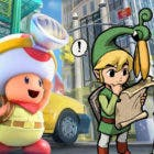 Nintendo llegó a pensar en Link como héroe de Captain Toad: Treasure Treacker