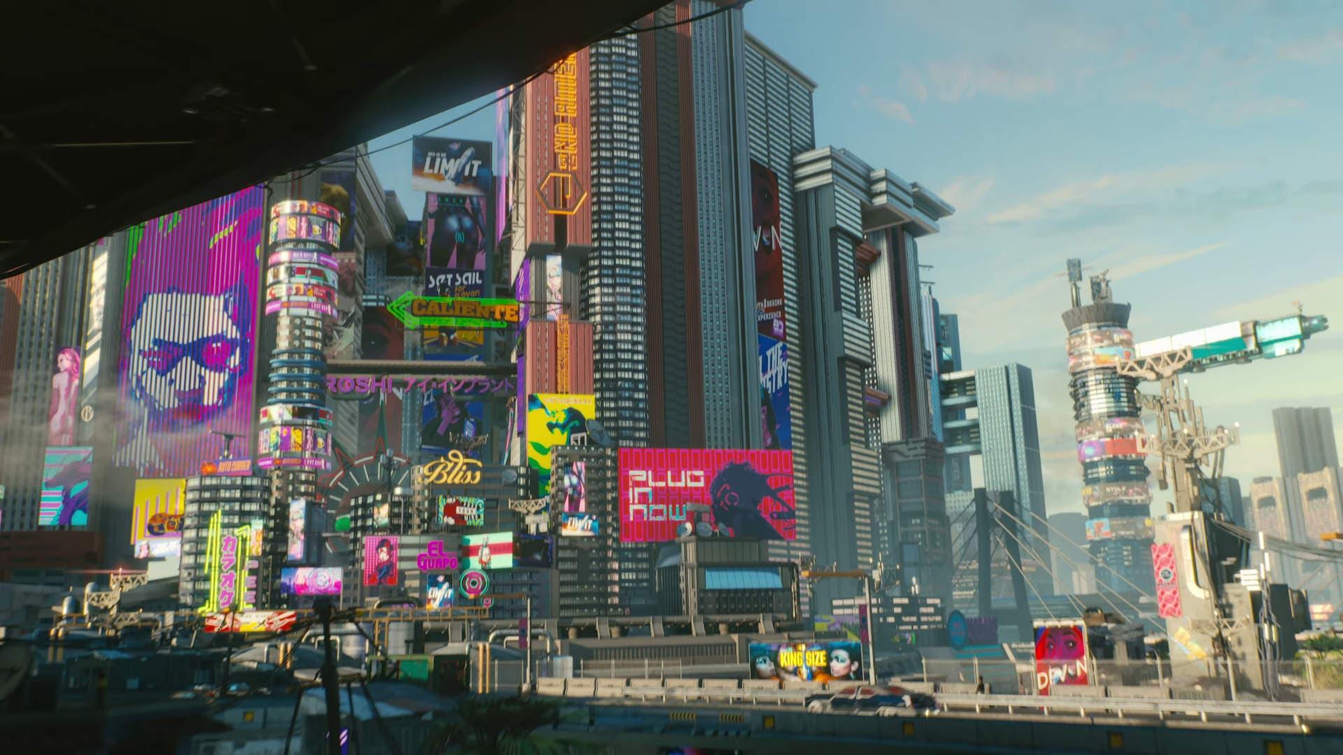 """Imagen de El mapa de Cyberpunk 2077 se siente como """"una ciudad real"""""""
