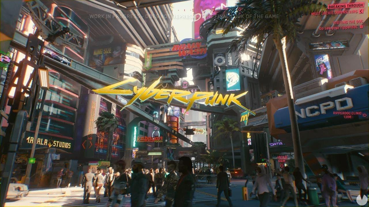 Imagen de Cyberpunk 2077 quiere escenarios altamente destruibles, pero el hardware le limita
