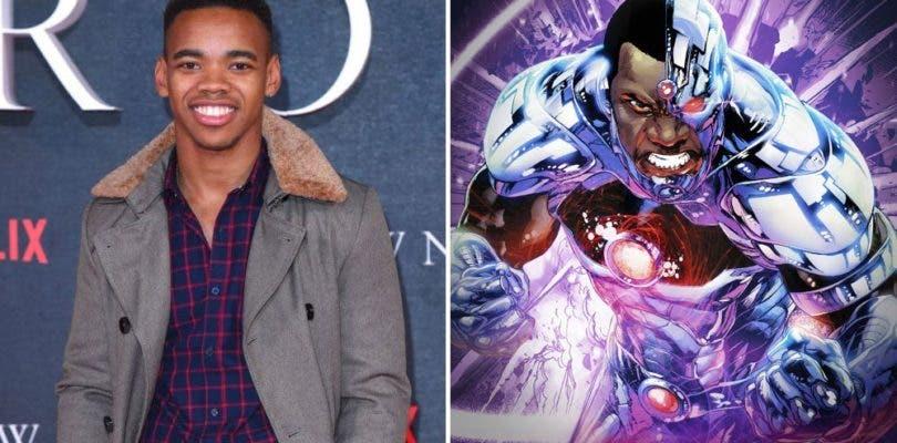 Joivan Wade se une a la serie Doom Patrol interpretando al superhéroe Cyborg