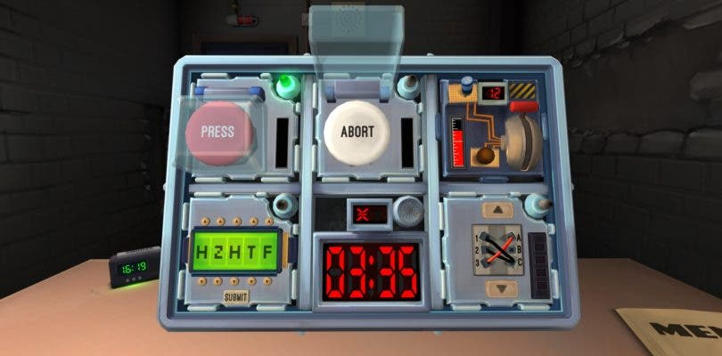 Keep Talking and Nobody Explodes llegará a consolas la próxima semana