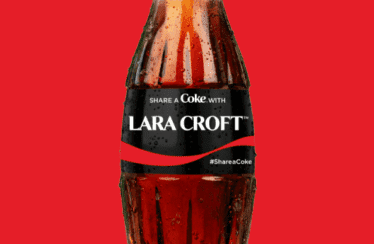 Coca-Cola lleva a Tomb Raider y Lara Croft al cine