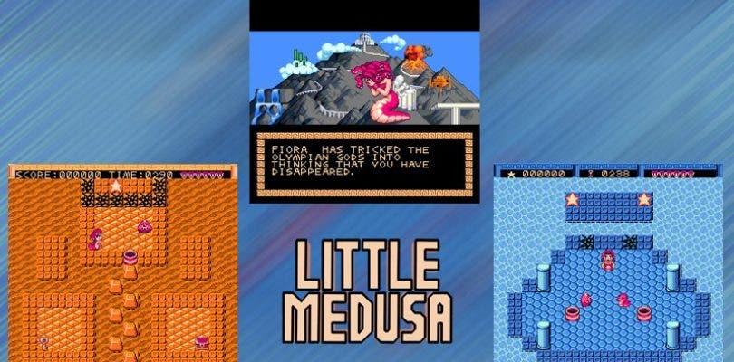 SNES y Mega Drive reciben un nuevo cartucho: Little Medusa