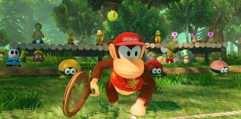 Mario Tennis Aces incorporará a Diddy Kong como personaje jugable muy pronto