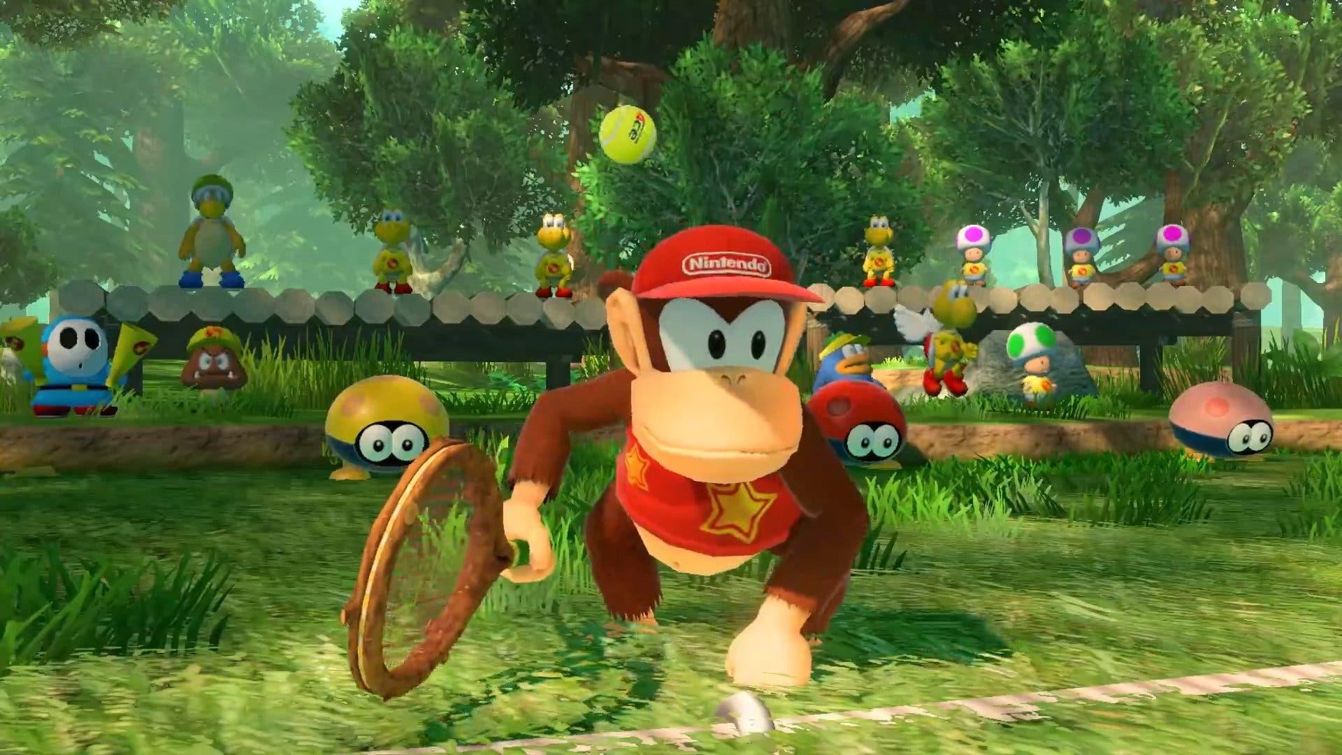 Imagen de Mario Tennis Aces incorporará a Diddy Kong como personaje jugable muy pronto
