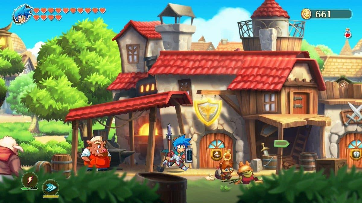 Imagen de FDG Entertainment afirma que la demo para Switch de Monster Boy and the Cursed Kingdom llegará muy pronto