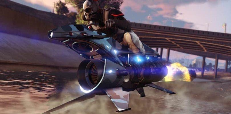 Patrulla las calles y los cielos de GTA Online con el Oppressor MK II
