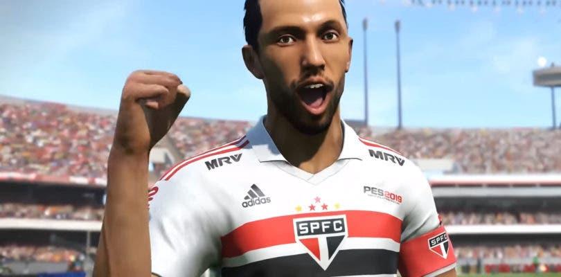 PES 2019 contará con la licencia del Sao Paulo brasileño en exclusiva
