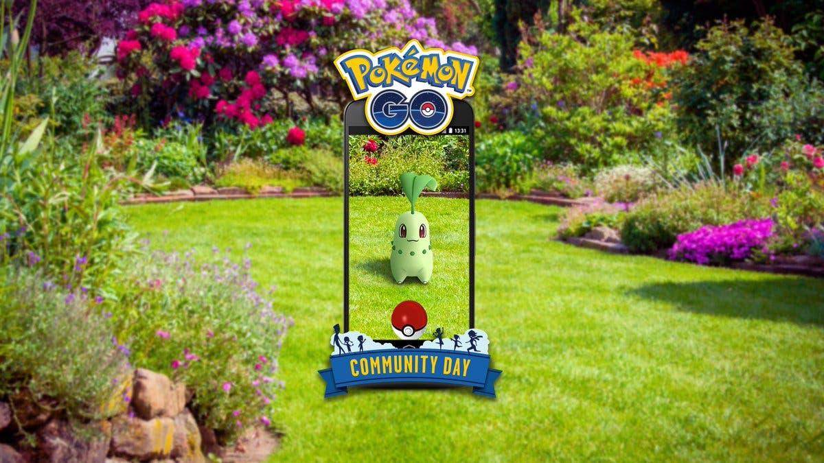 Imagen de Chikorita protagonizará en Pokémon GO el Día de la Comunidad de septiembre