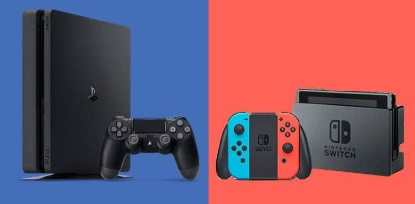 nintendo switch playstation 4