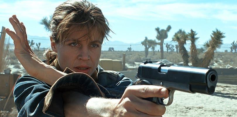 Las mujeres toman las armas en la primera imagen oficial de Terminator 6