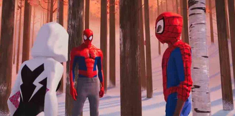 Spider-Man: Un nuevo universo revela alguno de los trajes que mostrará