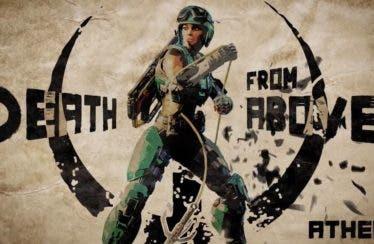 La campeona Athena se anuncia en un nuevo tráiler de Quake Champions