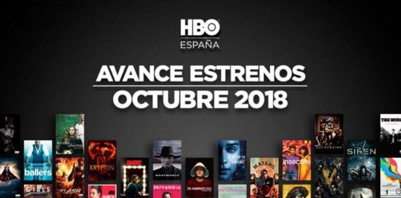 Estas son todas las novedades que llegan a HBO España en octubre
