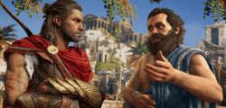 Tomb Raider felicita a Assassin's Creed Odyssey por su lanzamiento