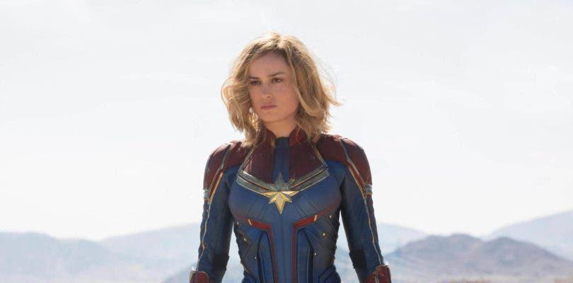 Así son las primeras imágenes oficiales de Captain Marvel