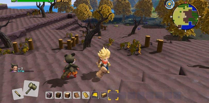 Isla Monzola protagoniza las nuevas imágenes de Dragon Quest Builders 2