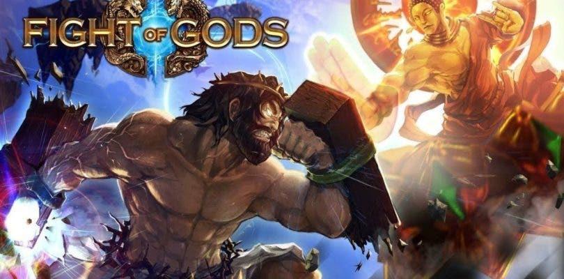 El polémico Fight of Gods con su divina propuesta de lucha llegará a Nintendo Switch
