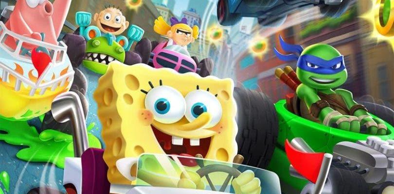 Primer tráiler de la divertida propuesta Nickelodeon Kart Racers con Bob Esponja al frente