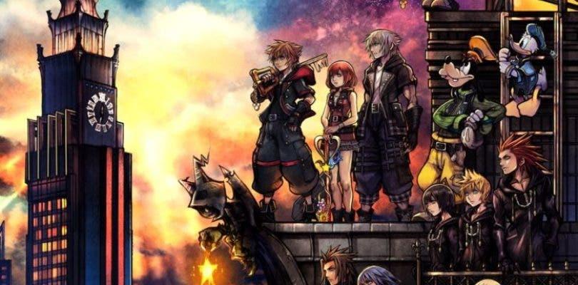 Mostradas las carátulas definitivas de Kingdom Hearts III