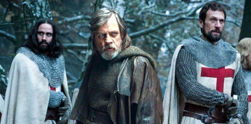 Mark Hamill se disfraza de Gimli en su primera imagen de Knightfall