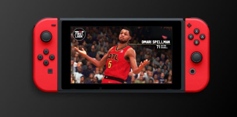 NBA 2K19 de Switch muestra su rendimiento en modo TV y portátil