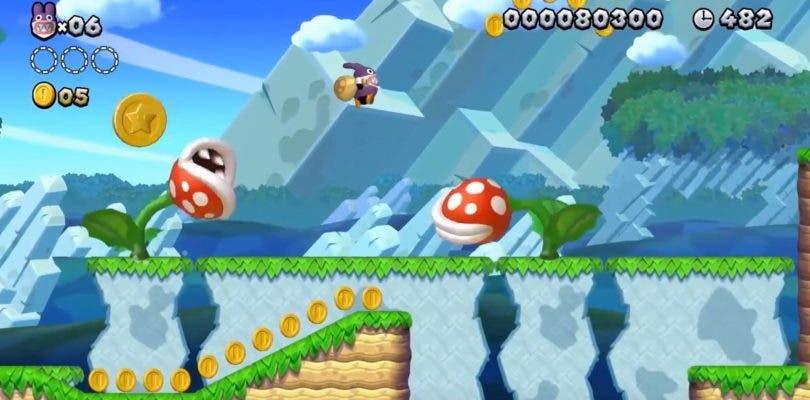 New Super Mario Bros. U llegará renovado con una edición deluxe a Nintendo Switch