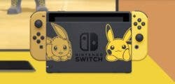 Así es la edición limitada de Nintendo Switch de Pokémon: Let's Go, Pikachu/Eevee