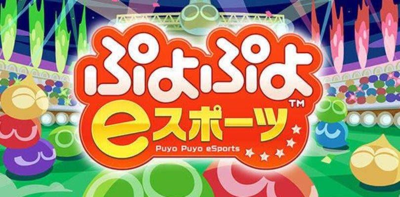 Desvelada al fin la existencia de Puyo Puyo eSports para Switch y PlayStation 4
