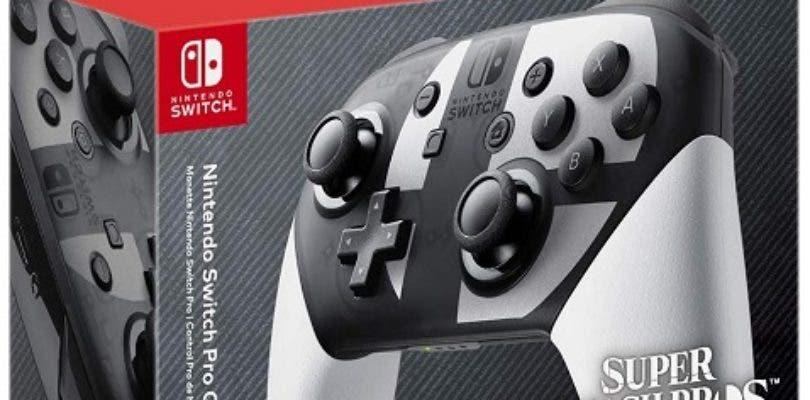 Revelada la edición especial de Pro Controller inspirada en Super Smash Bros. Ultimate